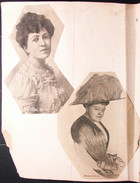 Amateur Playbill Scrapbook,  1901-1911 from the Mount Holyoke Area