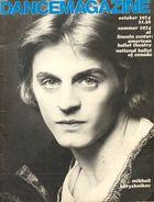Dance Magazine, Vol. 48, no. 10, October, 1974