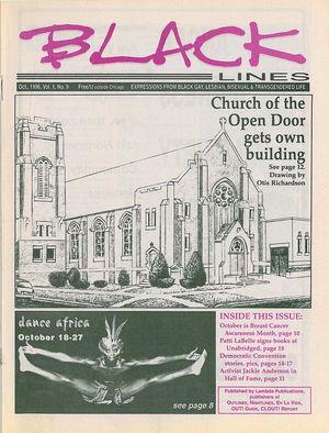 BLACKlines, Vol. 1 no. 9, October 1996