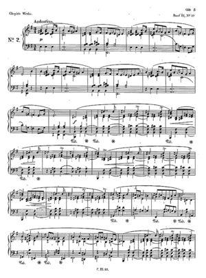 Mazurka no. 27, B.122, Op. 41/2, E Minor