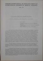 Congrès International de Sexologie Médicale - International Congress of Medical Sexology (Critical Appraisal of the Therapies of the Couple - Evaluation Critique Des Thérapies Du Couple) - Paris 1974