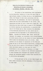 Notes for the Minister's Speech to the Federation of Grocers' Association at Luncheon, May 22, 1930