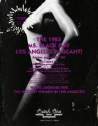 The 1983 Ms. Black Gay Los Angeles Pageant!