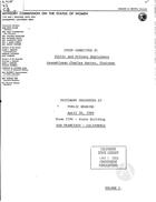 Public Hearing, April 28, 1966, vol. 1