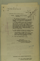 Memos from Henry Jervey and Lutz Wahl re: Additional Troops for Western Department, March 7, 1918