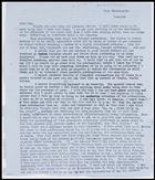 Letter from Jaap Van Velsen to MG, 1 Apr. 1959