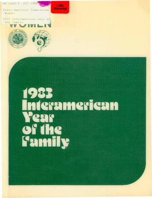 1983 Inter-American Year of the Family