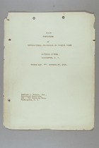 First Convention of International Conference of Working Women, Washington, D.C., 29 October 1919: Proceedings of the Second Day