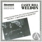 Casey Bill Weldon Vol 2 1936-1937