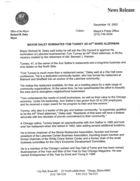 Mayor Daley Nominates Tom Tunney as 44th Ward Alderman