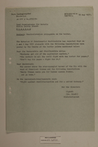 Memo from Dr. Riedl re: Czechoslovakian Propaganda on the Border, May 10, 1951