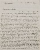 Copy of Letter from George Leslie to William Leslie, January 31, 1842