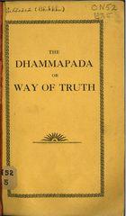 The Dhammapada, or Way of Truth