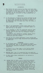 Memo Referencing Questions, Undated