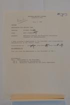 Documents Regarding the Emergency Refugee and Migration Assistance Drawdown for Rwanda/Burundi