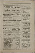 The Bookman Magazine, October, 1913