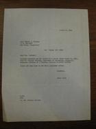 Emily Golia to Joseph T. Marinan, August 16, 1962