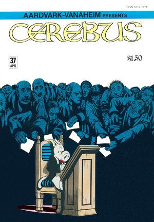 Cerebus the Aardvark, no. 37