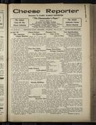 Cheese Reporter, Vol. 54, no. 37, Saturday, May 24, 1930
