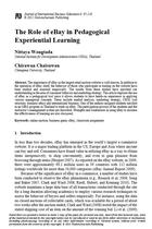 The Role of eBay in Pedagogical Experiential Learning