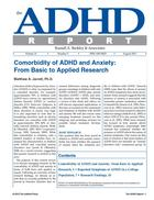 ADHD Report, Volume 21, Number 05, October 2013