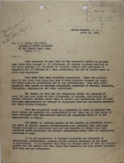 Letter from C. A. McIlvaine to J. E. Moore, March 16, 1933