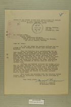 Letter from Francis C. Lindaman to William Moran, October 20, 1949