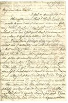 Letter From Clara Elizabeth Brooks, July 6, 1884