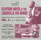 Clifford Hayes & The Louisville Jug Bands Vol. 4 1929-1931