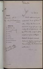 Draft Minute from Colonial Office to Sir J. A. Swettenham, re: Complaint by Richard Watler of Ill Treatment by Honduran Authorities at Bonacca, February 24, 1905