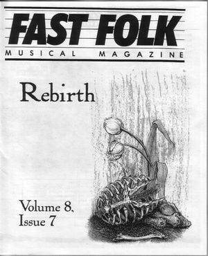 Fast Folk Musical Magazine (Vol. 8, No. 7) Rebirth