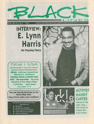 BLACKlines, Vol. 1 no. 3, April 1996