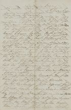 Letter from Emmeline MacArthur Leslie to Jane Davidson Leslie, March 11, 1850