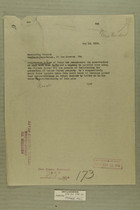 Memo from Kerr to Commanding General, Southern Department, May 13, 1919
