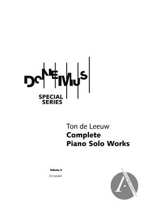 Complete Piano Solo Works, Volume 2 (1943 - 1988)