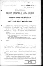 Summary of Annual Reports for 1941-42