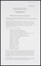 IAI - Executive Council meeting, Paris, June 1974: proposals for Executive Council Membership 1975-7