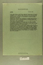 Confidential Report on Liguria, May 28, 1945
