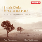 British Works for Cello and Piano, Volume 1