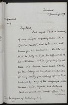 Letter from H. Drummond Wolff to the Marquess of Salisbury, January 5, 1897