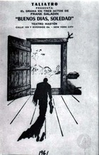 Flyer for a Play at Talia Theater, New York.