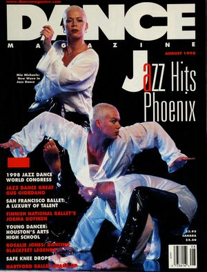 Dance Magazine, Vol. 72, no. 8, August,  1998