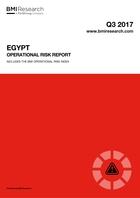 Egypt Operational Risk Report: Q3 2017