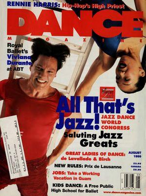 Dance Magazine, Vol. 73, no. 8, August, 1999