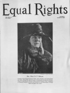 Equal Rights, Vol. 12, no. 27, August 15, 1925