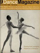 Dance Magazine, Vol. 35, no. 9, September, 1961