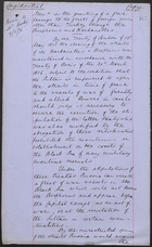 Memo from J. L. A. Simmons, January 9, 1878