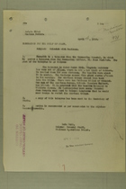 Memo from Lutz Wahl to the Chief of Staff, April 4, 1918; plus Memo from Henry Jervey for the Adjutant General, April 5, 1918