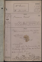 Colonial Office Correspondence Register, re: Letter from Foreign Office on Removal of Colonial Restrictions for Recruiting Black Labour for Panama Canal, with Related Minutes, October 1896