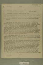 Embassy's Comments on Proposed Plan to Ease Arab-Israel Border Tension, May 28, 1954